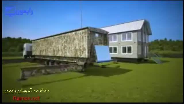ایده ای جالب در ساخت خانه های قابل حمل