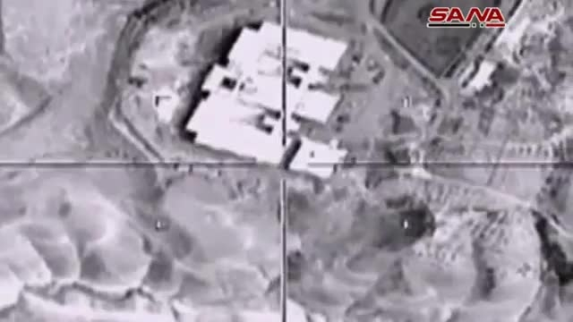 حمله روسیه به داعش و نابودی 60 پایگاه داعش و 300 داعشی