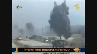 حمله حزب الله لبنان به ارتش اسرائیل