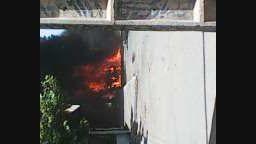 آتش سوزی خودرو در اثر سهل انگاری در شهرستان خوی