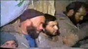 مداحی شهید سید داود شبیری در منطقه ، سخنرانی امام جمعه در بین رزمندگان