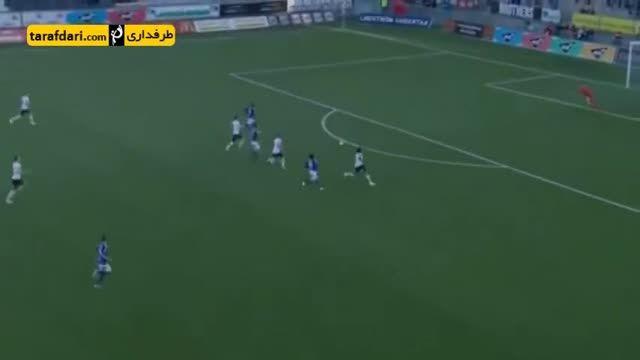 واکنش عجیب بازیکن سوئدی پس از گل خوردن تیمش
