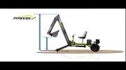 Powerex Mini Excavator مینی بیل پاورکس ( ابعاد )