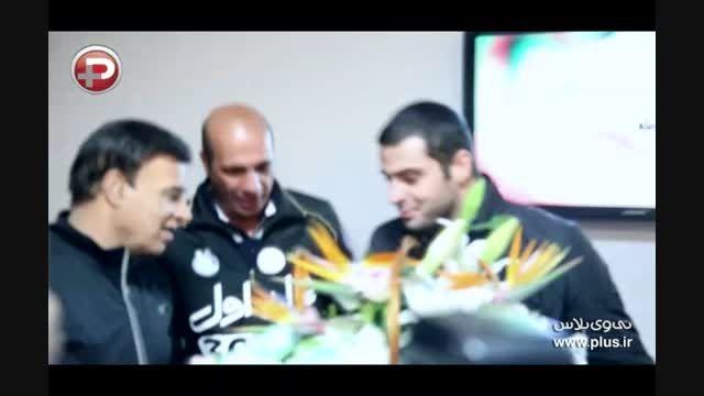 اولین گفتگوی علی ضیاء در شب آشتی کنانش با پرویز مظلومی