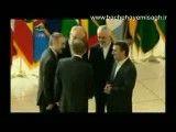 ورود سران عدم تعهد به سالن اجلاس تهران