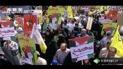 راهپیمایی بزرگ روز قدس در سراسر ایران