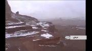 تصاویر برف در گرمترین نقطه زمین