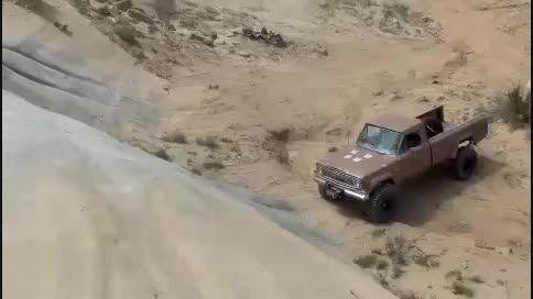 آفرود وانت جیپ سیمرغ (وانت آهو ( jeep gladiator j10