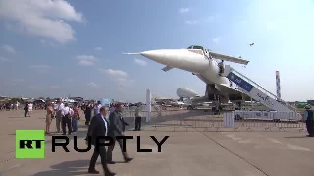 نمایش اولین هواپیمای مسافربری مافوق صوت توپولف