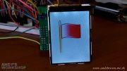 برقراری ارتباط میکرو STM32F4با LCD N95