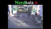 انفجار در پمپ بنزین توسط امواج موبایل