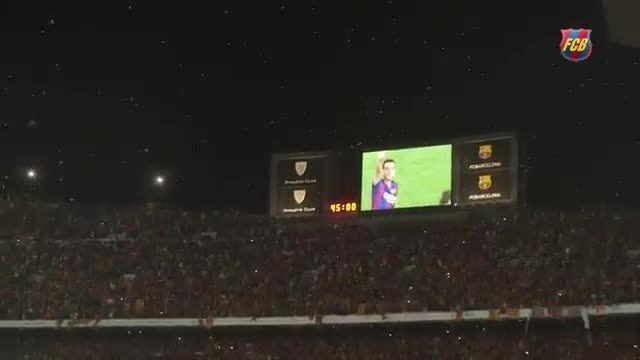 تصاویر ویژه جشن قهرمانی بارسلونا در کوپا دل ری