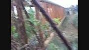 واژگونی خودروی پارس در رودخانه نیاکو