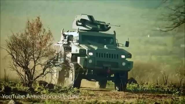 خودرو های نظامی آفریقای جنوبی