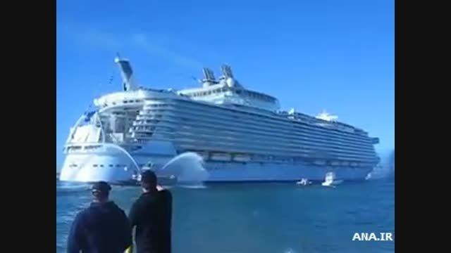 «واحه دریاها» بزرگ ترین کشتی کروز جهان