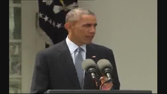 واکنش اوباما به توافق لوزان