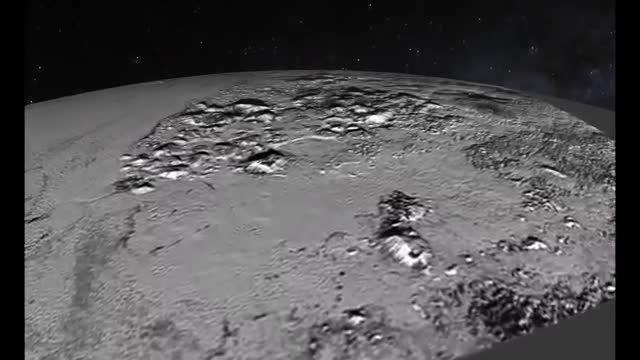 شاهکار ناسا، ویدیو و تصاویری زیبا از پلوتون