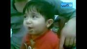 قلیان کشیدن بچه