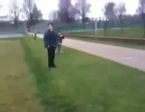 وقتی دوستتو با توپ هدف میگیری همین میشه دیگه!