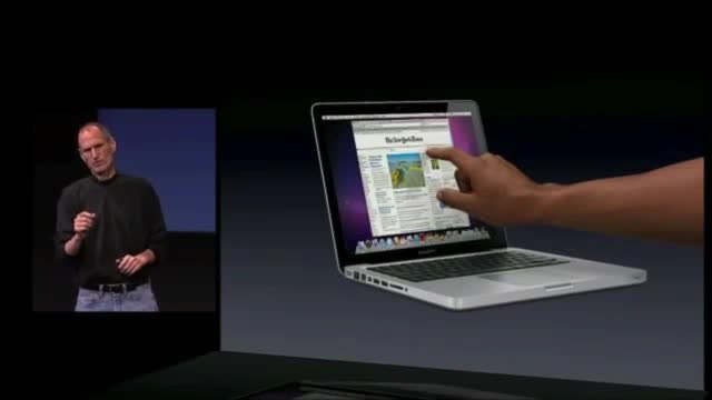 جابز: چرا نمایشگر تاچ برای کامپیوترها مناسب نیستند؟