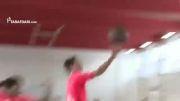 بازی بسکتبال بازیکنان بایرن مونیخ