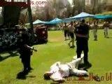 پلیس اسرائیل با شوکر به جان مرد فلسطینی افتاد