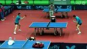 تمرین بازیکن برتر پینگ پنگ جهان