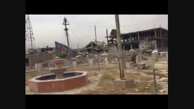 ابو عزرائیل با دوچرخه سراغ داعش می رود!