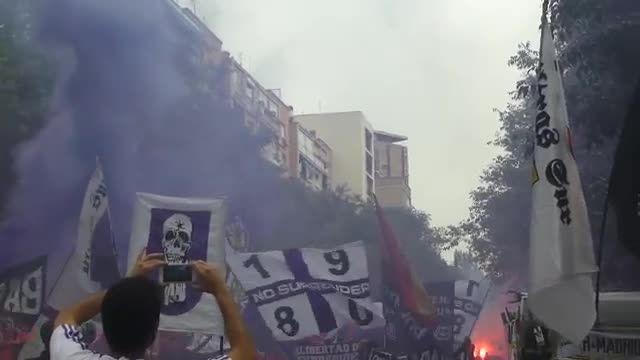 هواداران افراطی رئال مادرید (رئال مادرید VS یوونتوس)