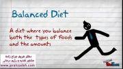 راز تعادل غذایی