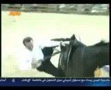 پرت شدن نخست وزیر ترکیه از روی اسب