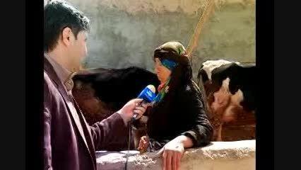 خانم میانسال روستایی، کارآفرین برتر ایران