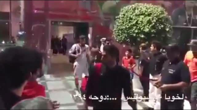 حرکت زشت خانزاده بازیکن پرسپولیس