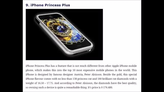 زوم تک - 10 گوشی گرانقیمت جهان کدامند ! مارس 2015