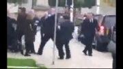حمله یک معترض به دیوید کامرون نخست وزیر انگلیس