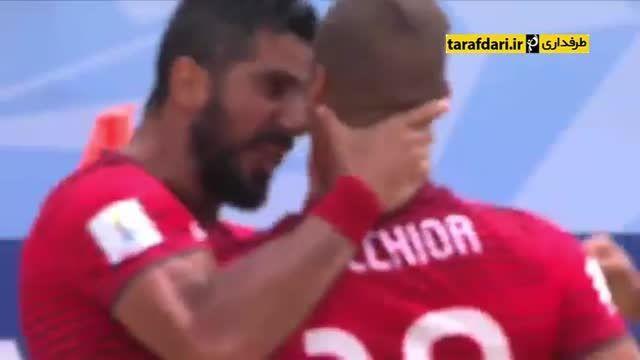 پرتغال 7-2 آرژانتین (جام جهانی فوتبال ساحلی)