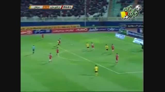 سپاهان - تراکتورسازی (خلاصه) - لیگ 14