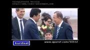 لحظه ورود رییس سازمان ملل به کردستان