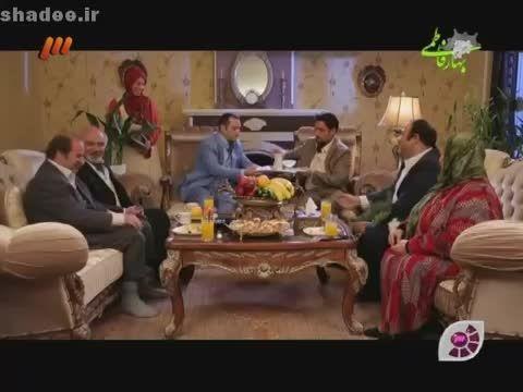 پشت صحنه  در حاشیه مهران مدیری و مصاحبه با بازیگران