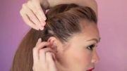 آموزش بافت مو مدل پیچ ساده