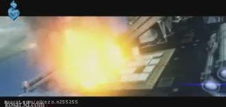 انیمیشن بسیار قشنگ حمله موشک های ایرانی به ناو آمریکایی