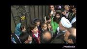 ورود روحانی به آستراخان روسیه