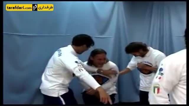 اهنگ رسمی تیم ملی ایتالیا با همخوانی ستارگان ایتالیا