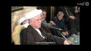 صحبت های کنایه دار هاشمی رفسنجانی در مراسم محرم!