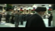 لحظه ورود رهبرانقلاب به حسینه امام خمینی ره