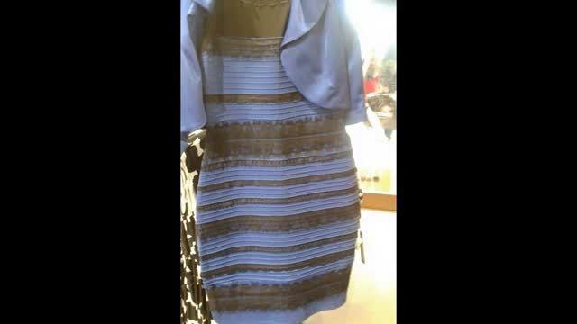 شما این لباس را چه رنگی میبینبد ؟ بحث روز جهان