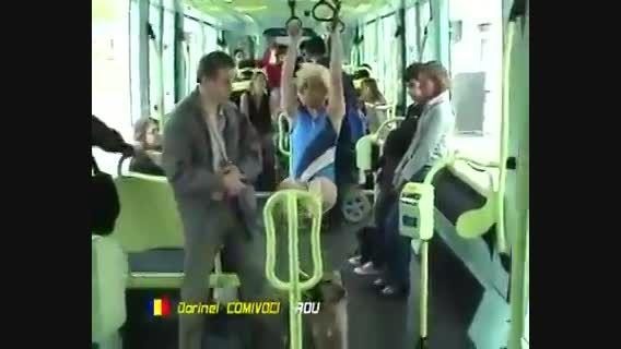 المپیک مردم آزاری در خیابان : ژیمناستیک