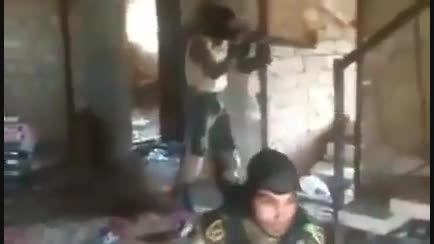 تک تیرانداز داعش در قبضه نیروهای ویژه بسیج مردمی