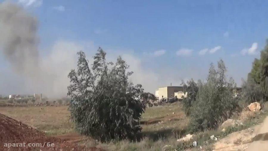بمباران شدید جنگنده روسیه در منطقه سقوط جنگنده SU-24