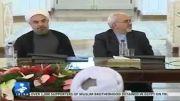 شوخی ظریف و روحانی با علی اکبر صالحی